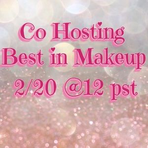 Today!!  February 20th @ 12PST BEST IN MAKEUP